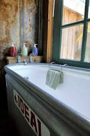 galvanized tub bathroom sink best sink decoration