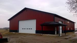 Burgundy Metal Roof Pictures by Metal Building Projects By Ramco Ramco Supply In Indiana