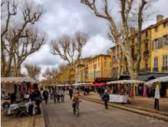 aix en provence winter market from the collection artwork archive