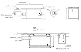 tende da sole dwg schema impianto fognario dwg con impianti di trattamento acque di