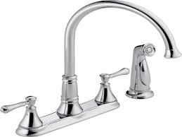 oil rubbed bronze repair delta kitchen faucet wide spread two