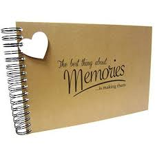 blank photo album our story so far anniversary heart memory book scrapbook