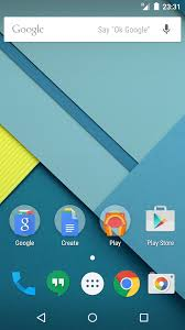 most recent android update android lollipop