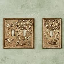 michelia brass switchplates