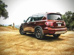 nissan armada off road 2017 nissan armada review off road and on patrol