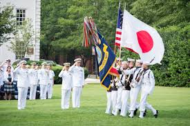 Japanese Navy Flag Chief Of Naval Operations Hosts Japanese Counterpart U003e U S