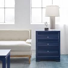Bungalow 5 Nightstand Paramount 3 Drawer Side Table By Bungalow 5 Bedside Manor Ltd