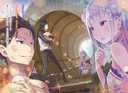 subaru and emilia re zero kara hajimeru isekai seikatsu natsuki subaru emilia