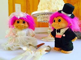 troll wedding cake toppers wedding cakes pinterest wedding