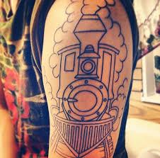 9 best tattoos trains images on pinterest trains leg tattoos
