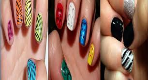 30 easy nail artwork designs for brief nails style one web