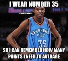 lol kd with 11 straight 30 point games credit nba top memes