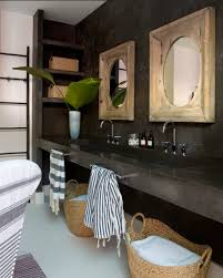 black stone bathroom sink zen bathroom eclectic bathroom