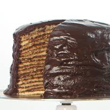 this 18 layer chocolate cake has a rich southern history