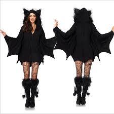 Halloween Costumes Devil Woman Halloween Vampire Costume Women Black Evil Bat Costume