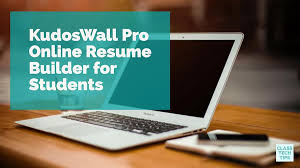 Resume Builder Tips Kudoswall Pro Online Resume Builder For Students Class Tech Tips