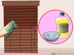 Venetian Blinds How To Clean 3 Ways To Clean Wood Blinds Wikihow