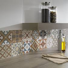 moroccan tiles kitchen backsplash small kitchen design and decoration using blue and orange pattern