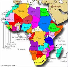 mapa de africa africa su cultura su alma su gente mapa político de africa