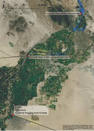 Map Of Colorado River by Map Of The Colorado River Between Imperial Dam And U S U2013 Mexico Border