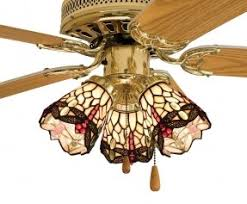 Glass Ceiling Light Covers Stained Glass Ceiling Fan Light Shades Foter