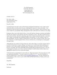 legal cover letter a parody law blawg legal cover