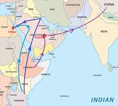 middle east map india deadly ivory trade trends in the middle east ifaw