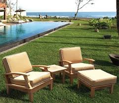 wood patio furniture outdoor patio furniture makeover by the wood