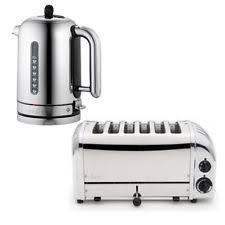 Dualit Toaster And Kettle Set Plastic Dualit Tea Kettle U0026 Toaster Sets Ebay