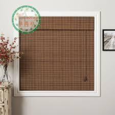 sorte de bambou romain couleur tigered natte de bambou stores bambou fenêtre