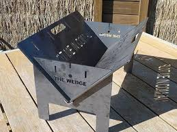 Firepits Direct The Wedge 600 Base Pit Cing Pit Portable