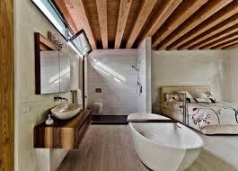 baignoire dans la chambre alliez tendance et romantisme