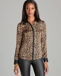 michael kors blouses michael kors leopard print blouse bloomingdale s