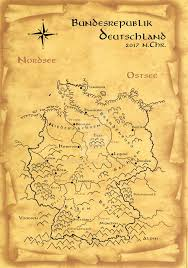 Essen Germany Map by Deutschland Germany Historic Fantasy Map By Schikera On