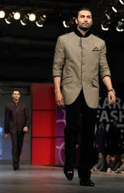 wedding collection for mens robe men kids party wear collection at karachi fashion week