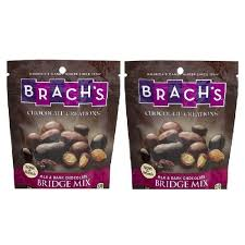where can i buy brach s chocolate brachs milk chocolate bridge mix 2 bag pack pricefalls