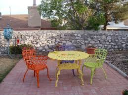 Cast Aluminium Garden Table And Chairs Best 25 Painting Patio Furniture Ideas On Pinterest Painted