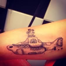 yellow submarine tattoo tattoo beatles love tatuagem