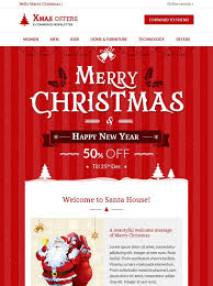 10 more of the best christmas u0026 holiday email templates