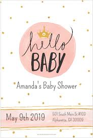 hello baby shower hello baby baby shower invitation personalized party invites