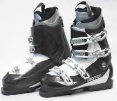 used womens boots size 9 salomon 550 s ski boots size 9 5 mondo 26 5 used