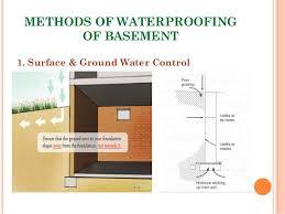 Basement Tanking Methods - presentation on waterproofing of basement omar faruqe hamim l2 t1 b u2026