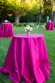 fuschia pink table cloth 44 best cocktail tables images on pinterest cocktail tables high