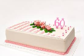 60th birthday cake ideas lovetoknow