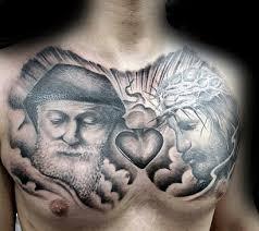 40 jesus chest designs for chris ink ideas