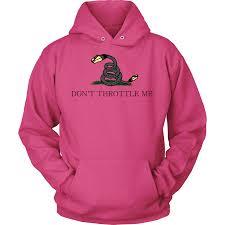 Meme Hoodie - don t throttle me hoodie meme shopping