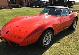 1975 corvette stingray for sale 1975 chevrolet corvette classics for sale classics on autotrader