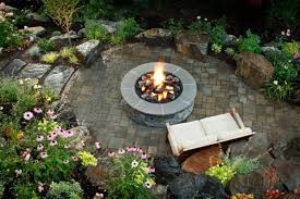 Backyard Fire Pits Ideas by Backyard Landscaping Ideas With Fire Pit Fire Pit Ideas
