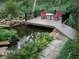 outdoor yard pond ideas with waterfall yard pond ideas for your