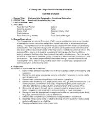 food service worker resume resume templates